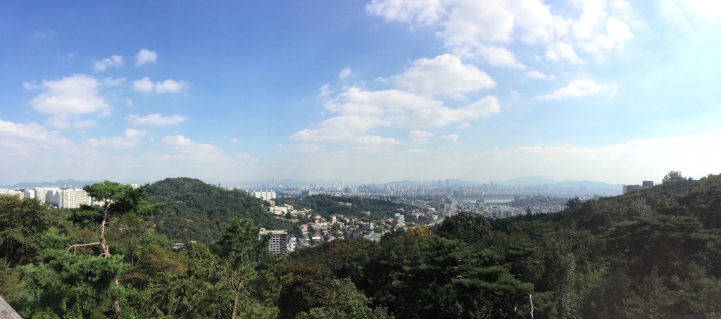 View from Namsan Lookout